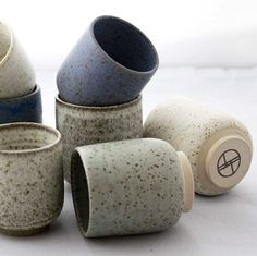 Online now! All the beautiful new stoneware ceramics by Danish artists are now online. Go check them out Online now! All the beautiful new stoneware ceramics by Danish artists are now online. Go check them out Pottery Mugs, Ceramic Pottery, Pottery Art, Pottery Bowls, Ceramic Plates, Ceramic Art, Earthenware, Stoneware, Desgin
