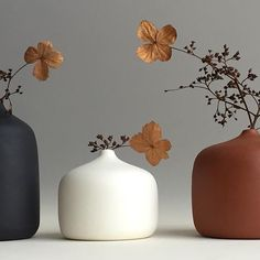 Boho Home Decor Three of my vases. Home Decor Three of my vases. Vases Decor, Plant Decor, Centerpieces, Ceramic Clay, Ceramic Pottery, Flower Vases, Flower Arrangements, Porcelain Jewelry, Ikebana