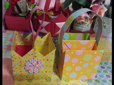 종이접기.팔각바구니접기.종이공예.오월의장미.바구니접기.280.origami - YouTube Origami Bag, Origami Boxes, Diy And Crafts, Paper Crafts, Origami Videos, Paper Beads, Kirigami, Paper Art, Projects To Try