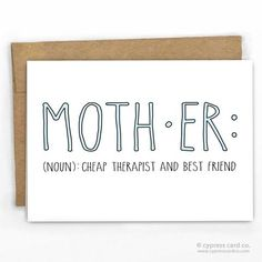 """Mother's Day Card 