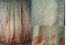 Silk Brocade Kimono - I can just picture a delicate beautiful woman wearing this!