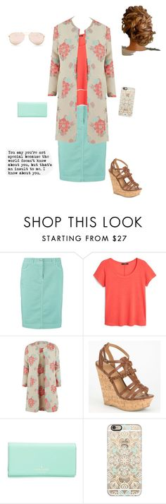 """""""Shoutout to @rosam10150"""" by holiness-is-thenewhot ❤ liked on Polyvore featuring moda, Gerry Weber Edition, MANGO, Gina Bacconi, Delicious, Kate Spade, Casetify e GUESS"""