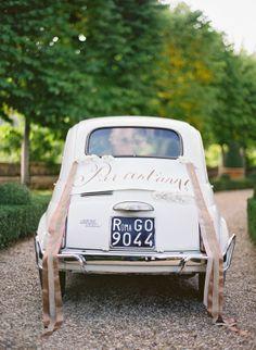 Matrimonio all'italiana : fiat 500