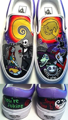 Nightmare Before Christmas Shoes one of my all time favorites!!