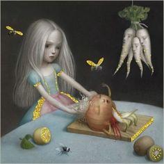 La Marelle `Kaart Nicoletta Ceccoli Girls Don`t Cry`