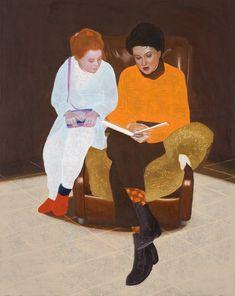pintura de Hans Vandekerckhove Riddles, Figure Painting, The Darkest, Oil On Canvas, Illustration Art, Figurative, Contemporary, Modern, Crafts