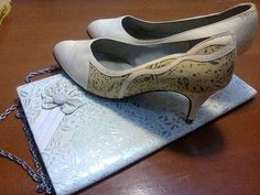 bride _ bag _ shoes _ my mather