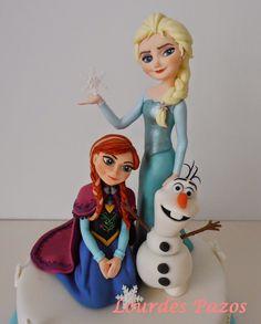 Pasteles Encantados: Frozen