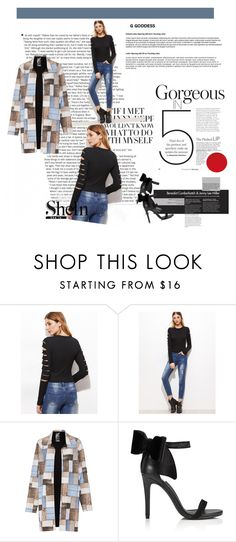 """""""Be Slick in Rip"""" by tainted-scars ❤ liked on Polyvore featuring Norma Kamali and Miss Selfridge"""