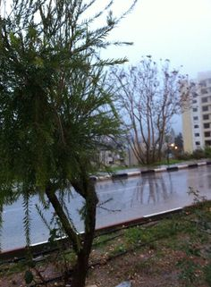 Ramallah Palestine under rain #palestine_ramallah 3