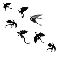 Small Dragon Tattoos, Dragon Tattoo Designs, Small Tattoos, M Tattoos, Cool Tattoos, Tatuagem Thunderbird, Princesas Disney Zombie, Rabe Tattoo, Game Of Thrones Tattoo