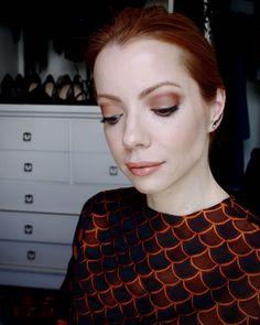 Julia Petit - Maquiagem em tons de ferrugem