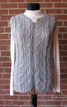 Free Knitting Pattern - Women's Vests: Everest Vest
