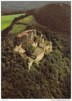 Cartes Postales - Czech R. Buchlov Hrad v Chribech..., Aerial View, Panorama, Castle Chateau