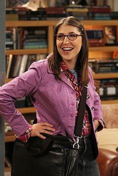 Mayim Bialik as Amy Farrah Fowler--The Big Bang Theory