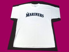 $19.99 SEATTLE MARINERS NUMBER ONE MOM WHITE T-SHIRT X-LARGE GAME DAY GIVEAWAY