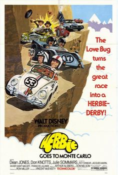 Herbie Goes to Monte Carlo Movie Poster Print (27 x 40) - Item # MOVEH6349 - Posterazzi