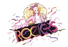 Barbie and the Rockers - I love 80s Barbie logo and her style!!!