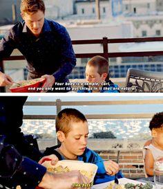 """I saw it in that movie."" hahaha Carl - Shameless US"