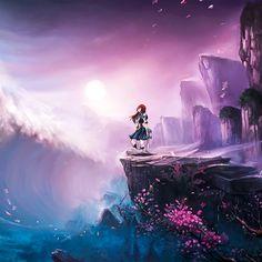 Iphone Plus Anime Japan Wallpaper Iphone Hd Wallpapers Nali Fairy Tail, Arte Fairy Tail, Fairy Tail Erza Scarlet, Fairy Tail Lucy, Art And Illustration, Flowers Illustration, Konosuba Wallpaper, Cute Anime Wallpaper, Wallpaper Backgrounds
