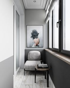 In this image may be: in the Interior Balcony, Apartment Balcony Decorating, Balcony Design, Apartment Design, Home Interior Design, Furniture Decor, Furniture Design, Rich Home, Marquise