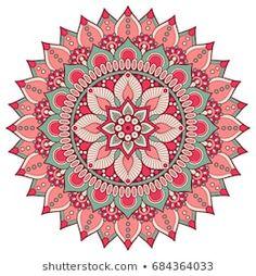 Mandala Art Lesson, Mandala Artwork, Mandala Drawing, Mandala Painting, Dot Painting, Mandala Coloring Pages, Coloring Book, Flower Art Images, Sacred Geometry Tattoo