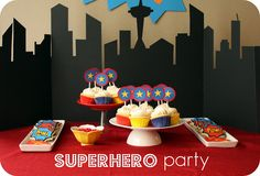 SuperHero Birthday Party ideas. :)