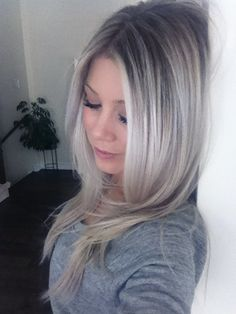 Ombre Ash Blonde | Baby blonde