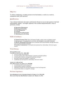 entry level human resources resume   calendar   pinterest   human    restaurant hostess resume