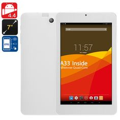 7 Inch Android Tablet Computer - Quad Core CPU, Mali GPU, HD Screen, OTG, Bluetooth, Wi-Fi, 2000mAh Battery - 7 Inch Quad Core Tablet Computer brings great value for money, whether surfing the web, playing games or watching movies you'll enjoy HD viewing and great entertainment