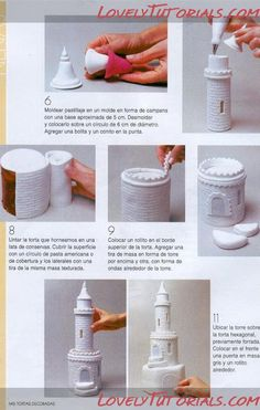 Castle Cake! tutorial torres de castillo