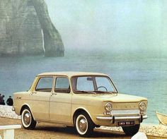 Simca 1000 (1961-78) - one of the first cars I remember us owning!  Thought it was fab as it had it's engine in the boot and the boot was at the front.  Looks hilarious now but we loved our little Simca! :)