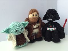 Amigurumi Sewing Machine Pattern : Star Wars crochet on Pinterest Star Wars, Darth Vader ...