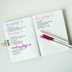 """403 Likes, 9 Comments - Bujo Nina (@bujo_nina) on Instagram: """"This week in my bujo. I am feeling quite demotivated lately due to what I believe to be the effects…"""""""