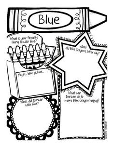 "The Day the Crayons Quit  This activity is part of my math and literacy unit for ""The Day the Crayons Quit"". To purchase the full 70 page unit, please visit http://www.teacherspayteachers.com/Product/The-Day-the-Crayons-Quit-Literacy-Math-Unit-1366871  I absolutely LOVE the book, ""The Day the Crayons Quit"" by Drew Daywalt. I find a way to use this book 3-4 times during the year, and the children enjoy it every time"