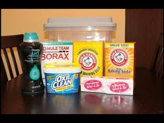 Cheap & Easy Homemade Laundry Detergent - YouTube