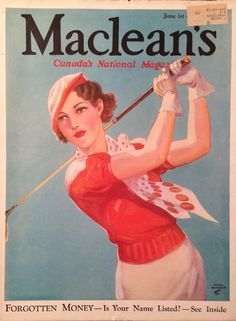 female vintage golfer - Google Search
