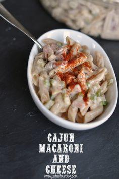 Cajun Macaroni and Cheese #pasta #recipes #comfortfood