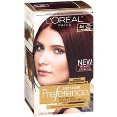 L'Oreal Paris Superior Preference Hair Color, Red