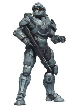 Halo 5 Guardians Render - Fred