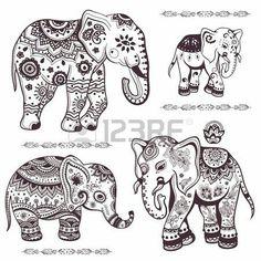 Elefantes hindú