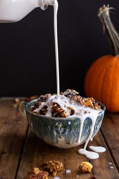 Brown Butter Pecan + Maple Quinoa Autumn Harvest Granola | halfbakedharvest.com