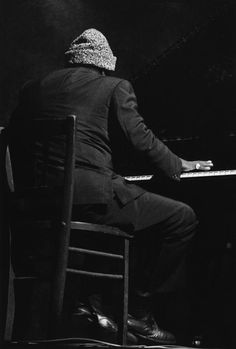 Thelonious Monk, photo by Guy Le Querrec
