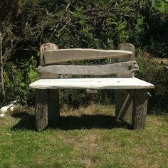 bench - julia's driftwood furniture