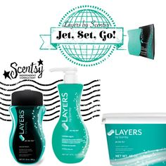 Scentsy Layers Laundry Care Jet Set Go #clean #laundry #Scents