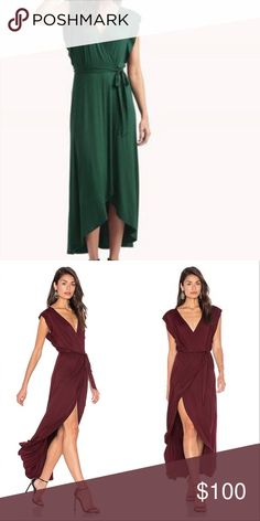Ella Moss • Bella maxi wrap dress Beautiful and flowy maxi dress by Ella Moss, brand new with tag, lose fit, color green, size L. Thank you for visiting my closet, let me know if you have any questions! Ella Moss Dresses Maxi