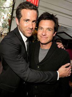 Ryan Reynolds & Jason Bateman..... yes, please. Please?! I've been a good girl all year!
