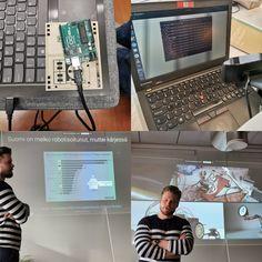 #Teknisenalanosaamissalkku #robotiikka #arduino Arduino, Monitor, Laptop, Electronics, Laptops, The Notebook