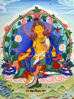 """ARYA TARA TSUGTOR NAMGYALMA: """"Homage, Crown of the Tathagata, her actions endlessly victorious, venerated by the sons of the conqueror who have attained every single perfection."""""""