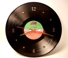 I wore this record out.  what a cute idea for a clock.